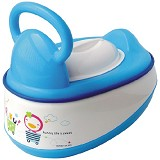 PUKU Baby Potty 5 in 1 [P17403] - Blue - Baby Potty and Seat